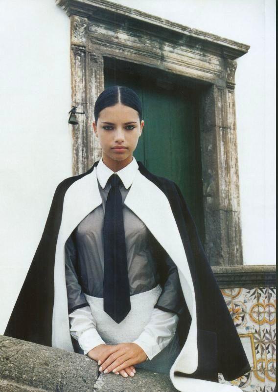 Adriana Lima Nun Photo Shoot