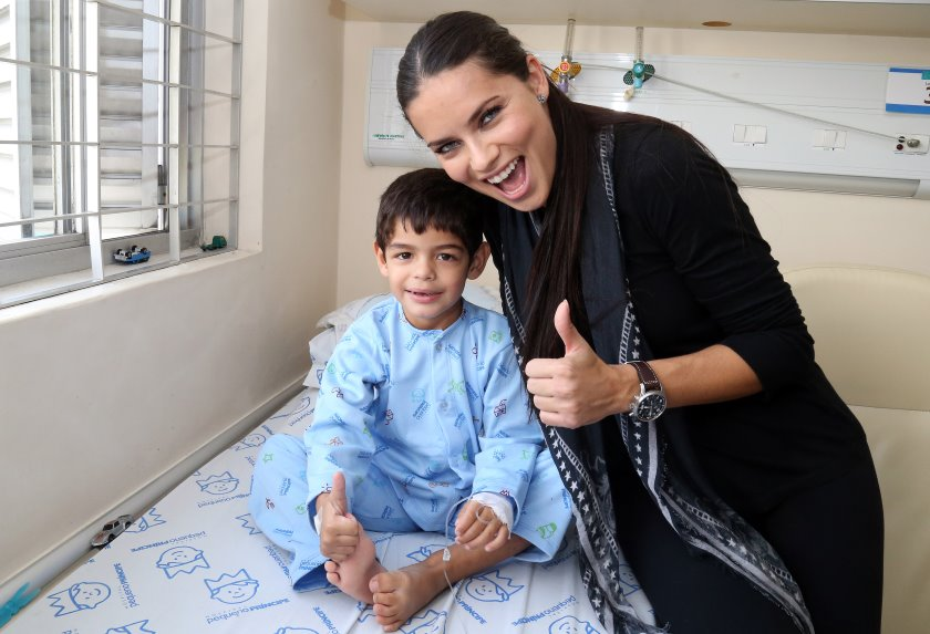 Adriana Lima in Children's Hospital
